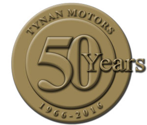 tynan-50-years-gold-logo